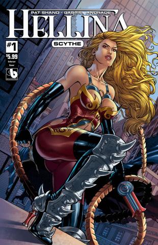 Hellina: Scythe #1 (Enforcer Cover)