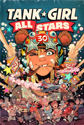 Tank Girl All Stars #1 (Parson Cover)