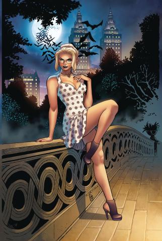 Van Helsing vs. Dracula's Daughter #4 (Ortiz Cover)