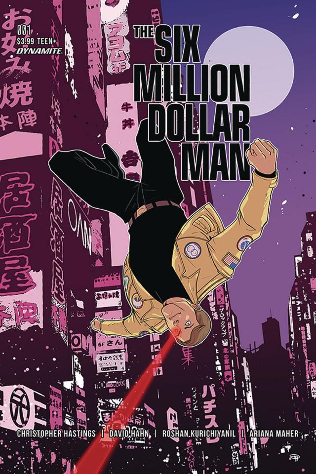 The Six Million Dollar Man #1 (Medri Cover)
