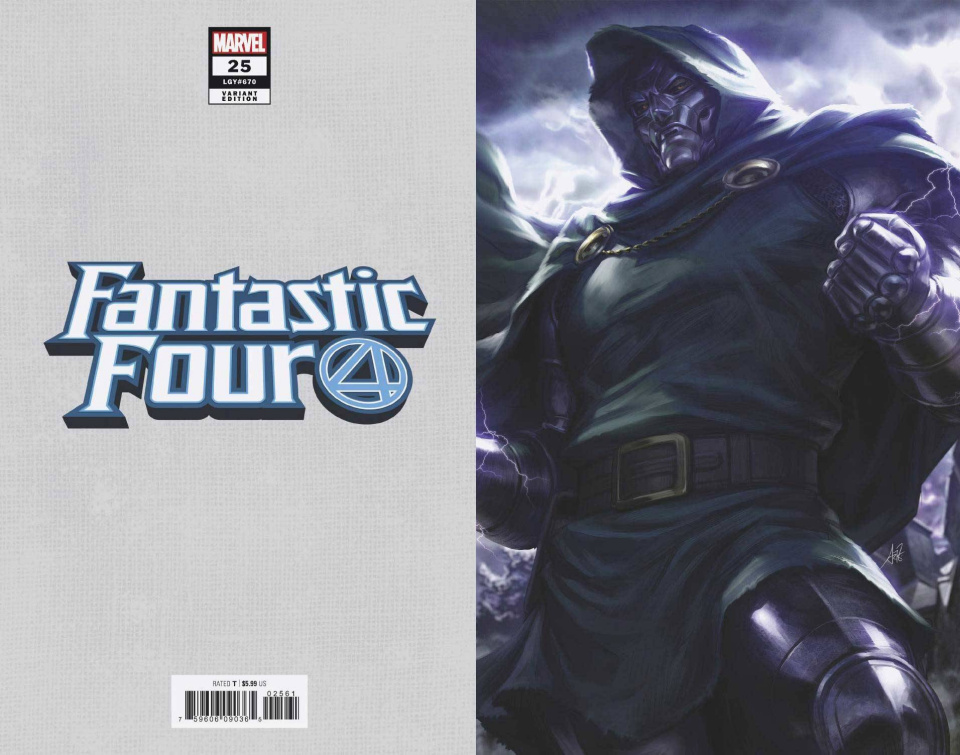 Fantastic Four #25 (Artgerm Virgin Cover)