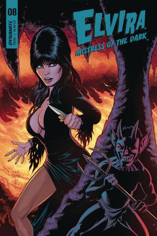 Elvira: Mistress of the Dark #8 (Cermak Cover)