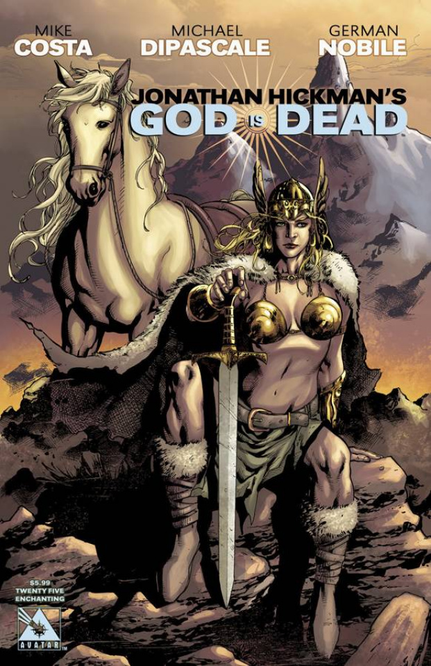 God Is Dead #25 (Enchanting Cover)