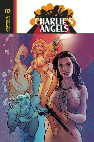 Charlie's Angels #2 (Roux Cover)