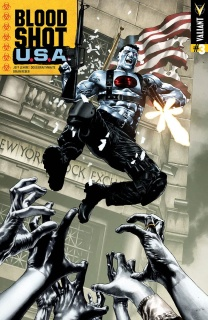 Bloodshot U.S.A. #3 (50 Copy Suayan Cover)
