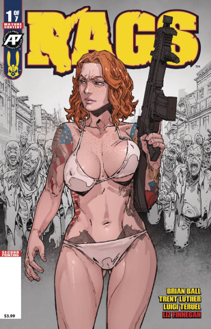 Rags #1 (2nd Printing)