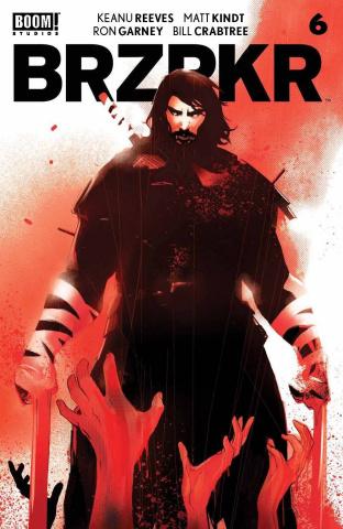 BRZRKR #6 (Garbett Cover)