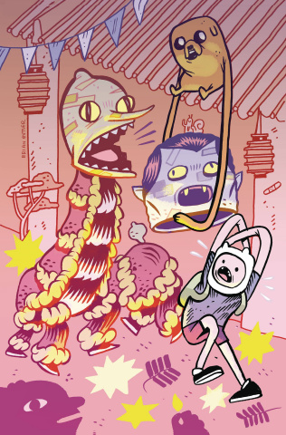 Adventure Time #52 (Subscription Butler Cover)