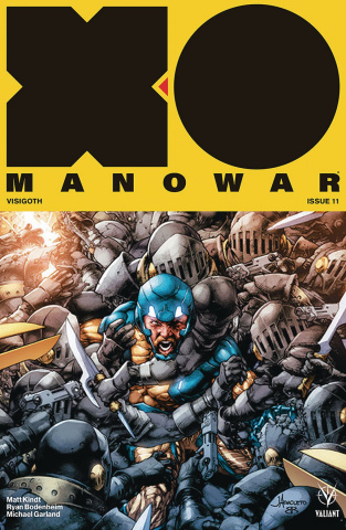 X-O Manowar #11 (50 Copy Icon Anacleto Cover)
