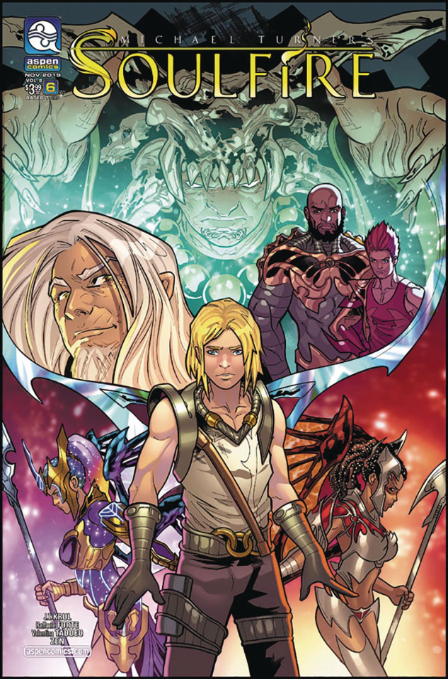 Soulfire #6 (Forte Cover)