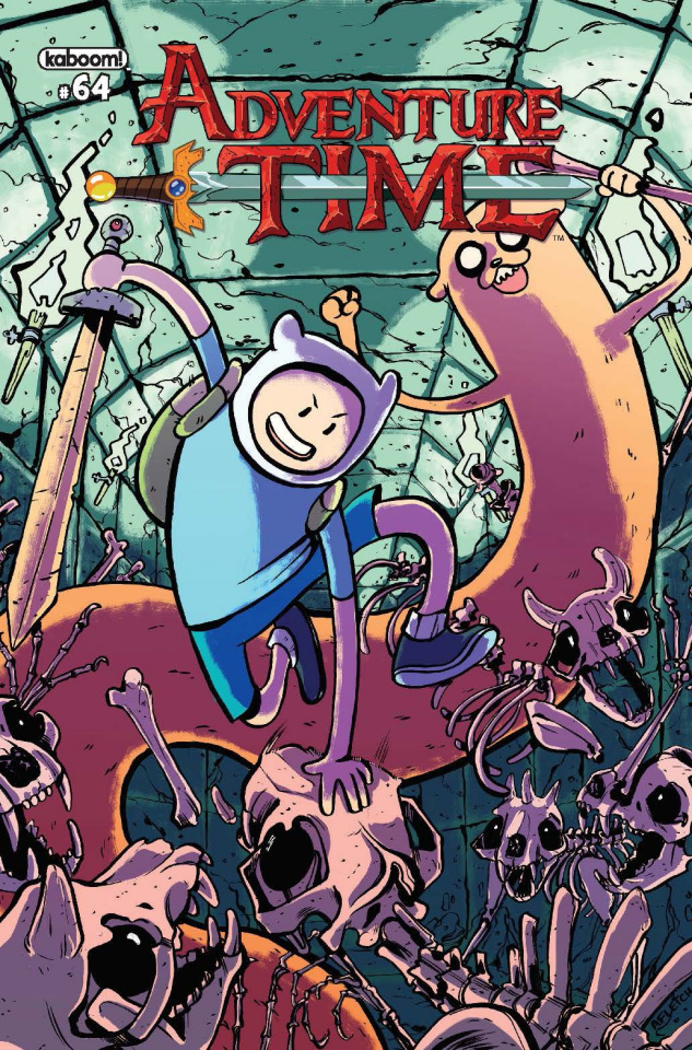 Adventure Time #64 (Subscription Fletcher Cover)