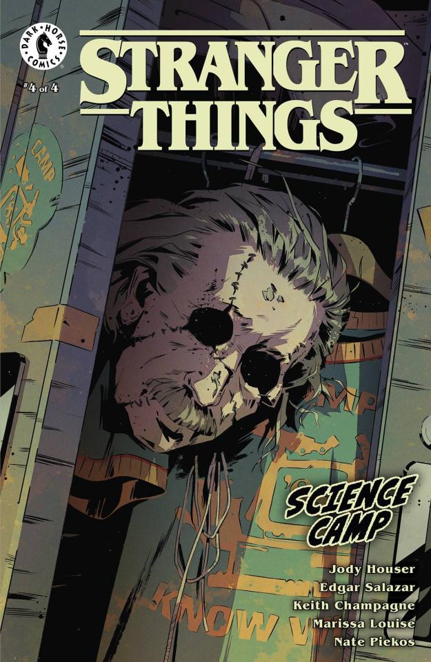 Stranger Things: Science Camp #4 (Bak Cover)
