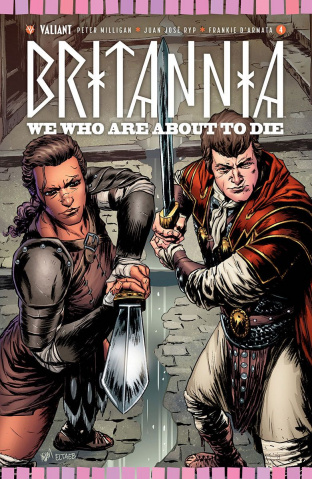 Britannia: We Who Are About to Die #4 (20 Copy Gorham Cover)