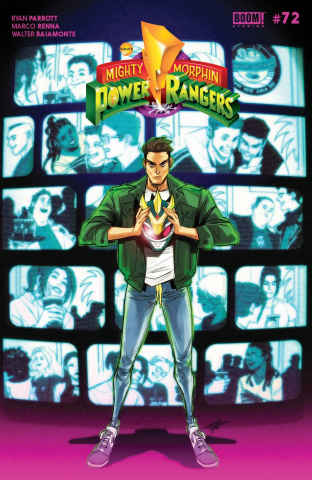 Mighty Morphin' #9 (Legacy Carlini Cover)