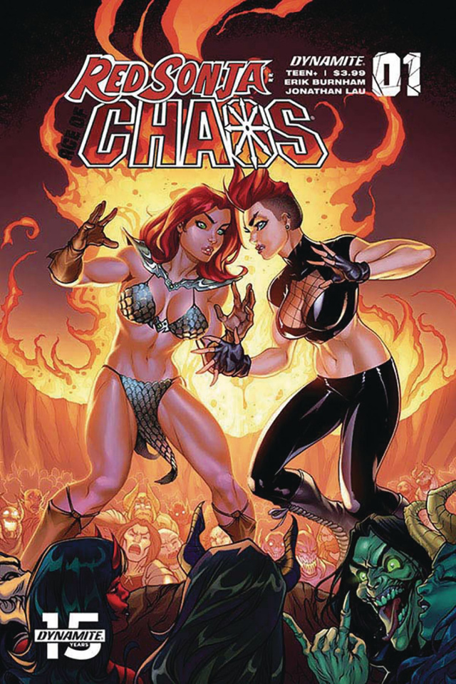 Red Sonja: Age of Chaos #1 (Garza Cover)
