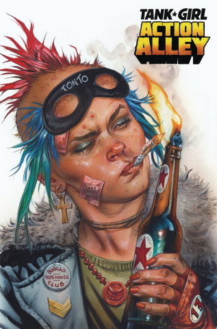 Tank Girl: Action Alley #1 (Staples Cover)