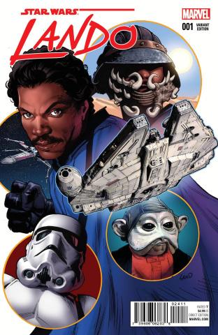 Star Wars: Lando #1 (Land Cover)