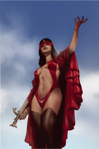 Vengeance of Vampirella #14 (Oliver Virgin Cover)