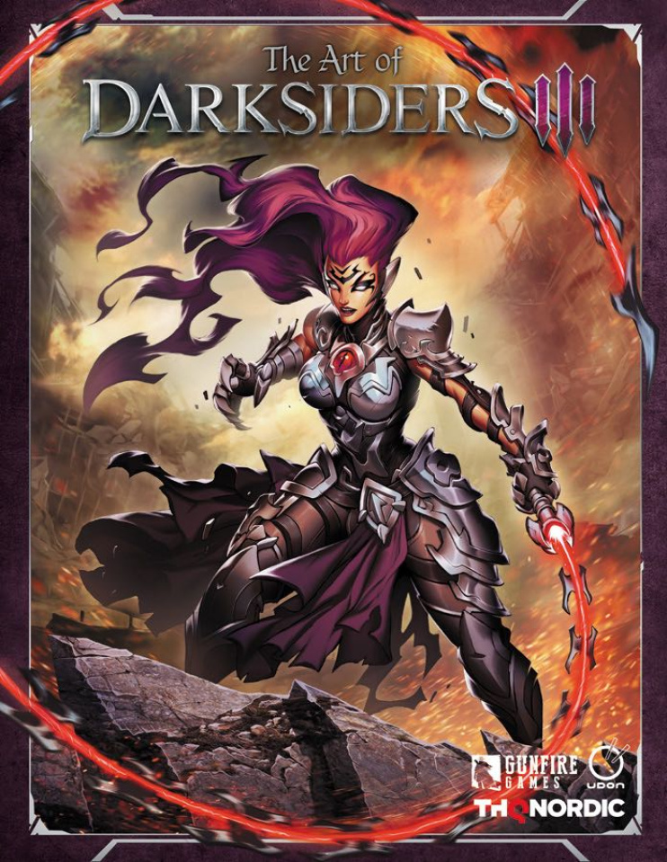 The Art of Darksiders III