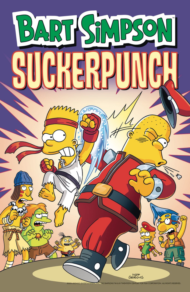 Bart Simpson: Suckerpunch
