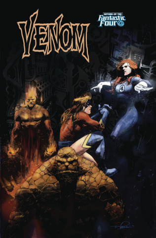 Venom #5 (Zaffino Return of Fantastic Four Cover)