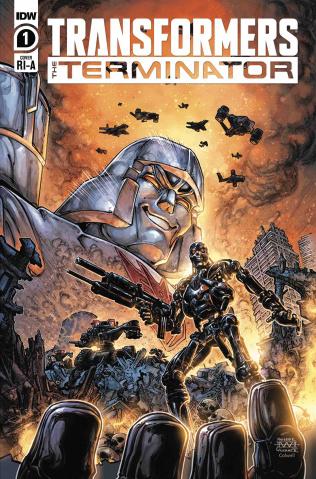 The Transformers vs. The Terminator #1 (10 Copy Cover)