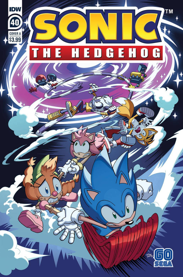 Sonic the Hedgehog #40 (Tracy Yardley Cover)