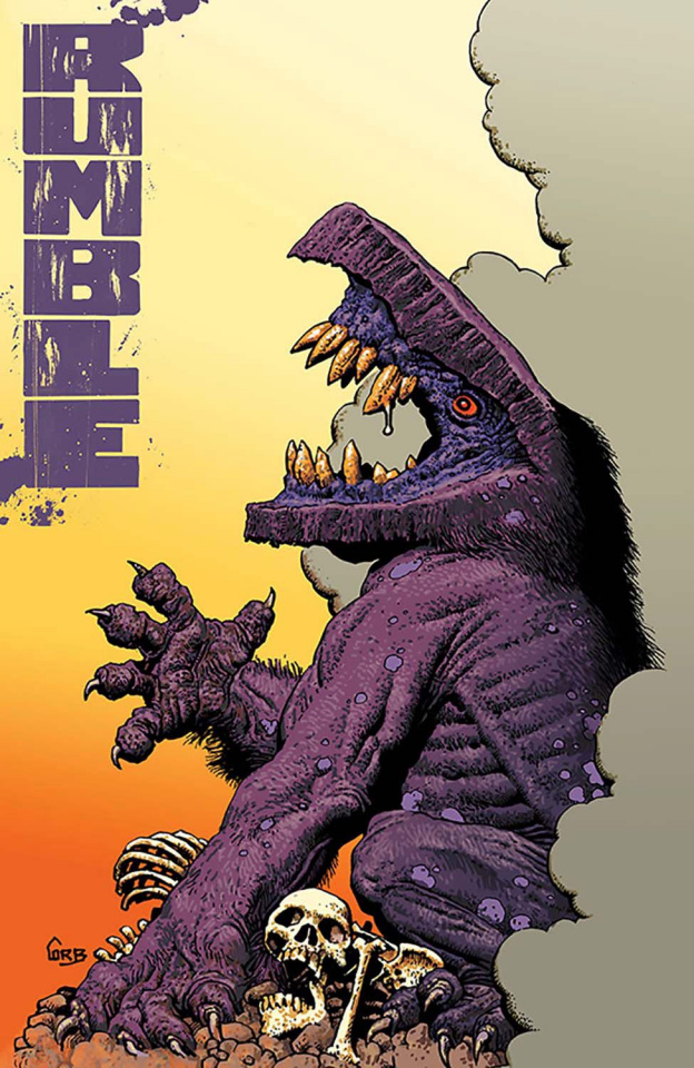 Rumble #13 (Corben & Reed Cover)