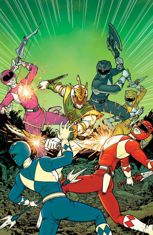 Mighty Morphin' Power Rangers: Shattered Grid #1 (10 Copy Burnham Cover)
