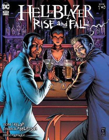 Hellblazer: Rise and Fall #2 (Darick Robertson Cover)