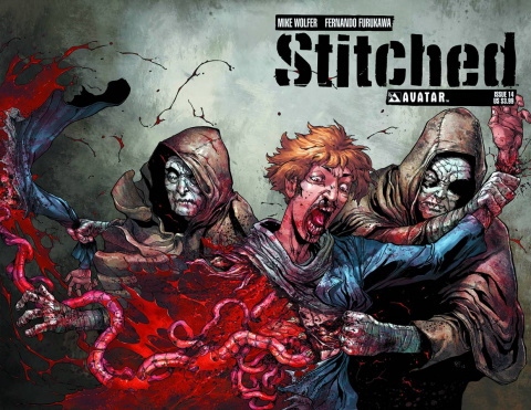 Stitched #14 (Wrap Cover)