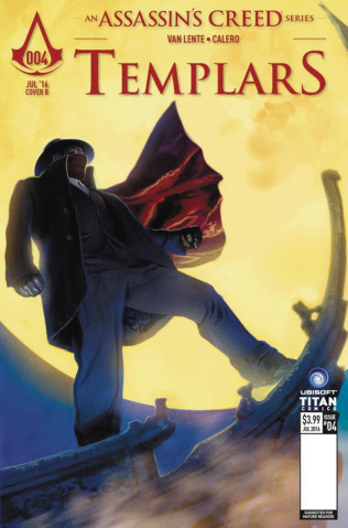 Assassin's Creed: Templars #4 (Calero Cover)