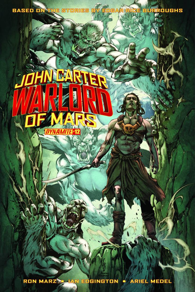 John Carter: Warlord of Mars #13 (Subscription Cover)