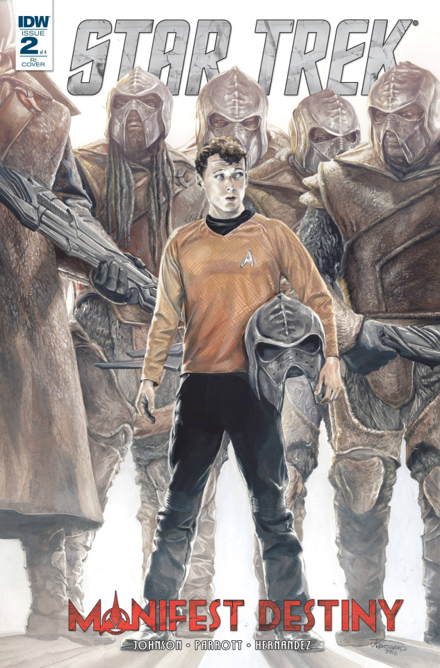 Star Trek: Manifest Destiny #2 (10 Copy Cover)