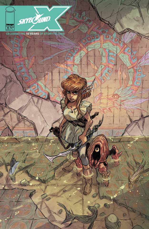 Skybound X #4 (Tunica Cover)