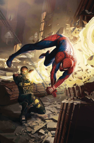 The Amazing Spider-Man #5 (Mandryck Spider-Man Video Game Cover)