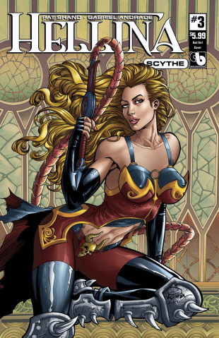 Hellina: Scythe #3 (Bad Girl Cover)