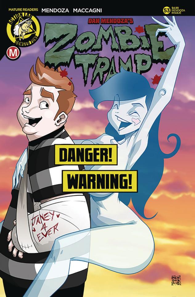 Zombie Tramp #53 (Mendoza Risque Cover)