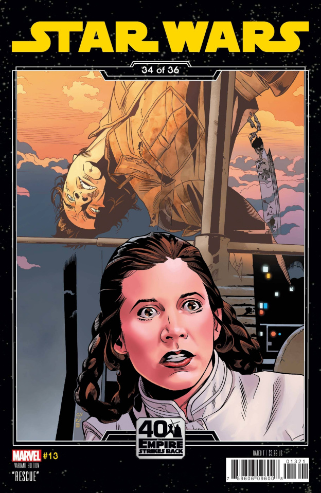 Star Wars #13 (Sprouse Empire Strikes Back Cover)