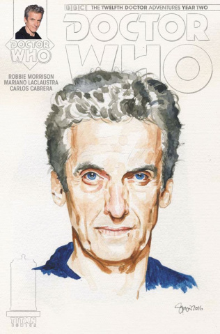 Doctor Who: New Adventures with the Twelfth Doctor, Year Two #11 (Myers Watercolor Cover)