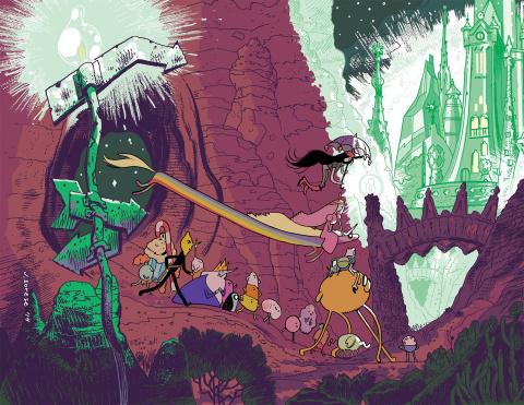 Adventure Time #50 (Emerald City Comicon Exclusive)