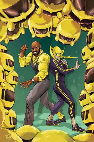 Power Man & Iron Fist #7 (Doyle Tsum Tsum Cover)