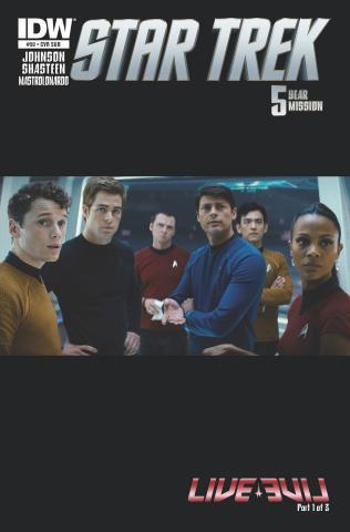 Star Trek #50 (Subscription Cover)