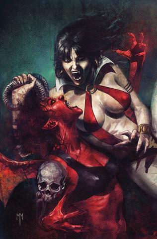 Vampirella vs. Purgatori #1 (30 Copy Mastrazzo Virgin Cover)