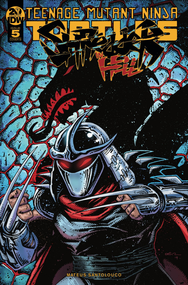 Teenage Mutant Ninja Turtles: Shredder in Hell #5 (Eastman Cover)