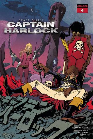 Space Pirate: Captain Harlock #4 (Perez Cover)