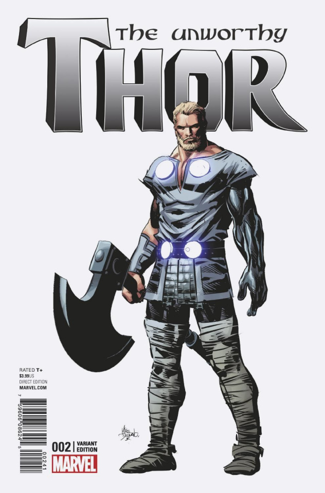 The Unworthy Thor #2 (Deodato Teaser Cover)