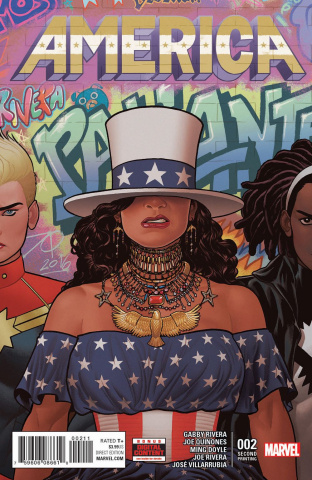America #2 (2nd Printing Quinones Cover)