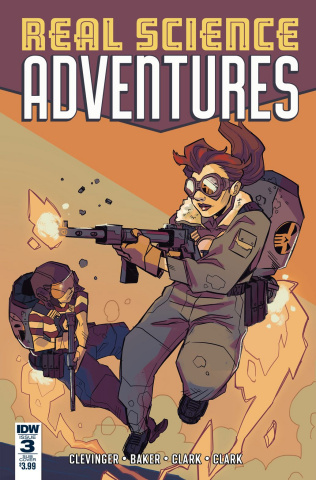 Real Science Adventures: The Flying She-Devils #3 (Subscription Cover)