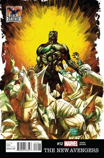 New Avengers #12 (Black Panther 50th Anniversary Cover)